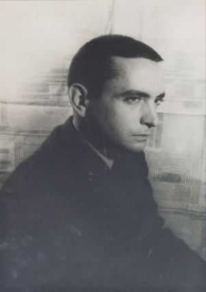 Portrait photograph of Edward Albee