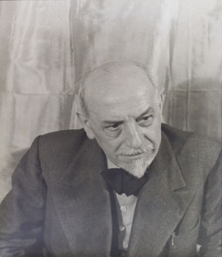 Portrait photograph of Luigi Pirandello