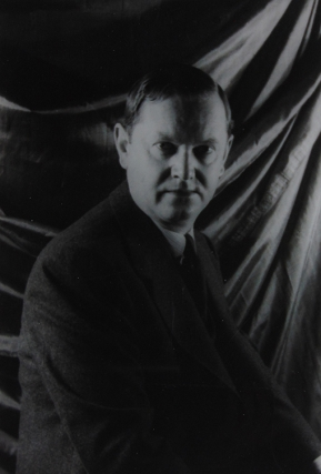 Portrait photograph of Evelyn Waugh