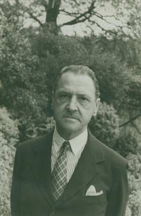 Portrait photograph of William Somerset Maugham. W. Somerset Maugham, Carl Van Vechten.