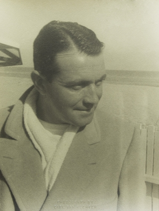 "Portrait photograph of Richard Barthelmess ""Richard Barthelmess at Malibu"" Richard Barthelmess, Carl Van Vechten."