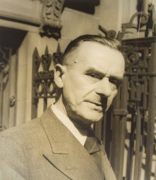 Portrait photograph of Thomas Mann. Thomas Mann, Carl Van Vechten