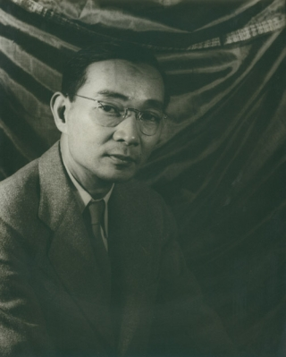 Portrait photograph of Lin Yutang