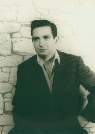 "Portrait photograph of Ben Gazzara as ""Brick"" in CAT ON A HOT TIN ROOF"