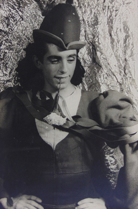 "Portrait photograph of Jerome Robbins in ""Three Virgins and a Devil"""