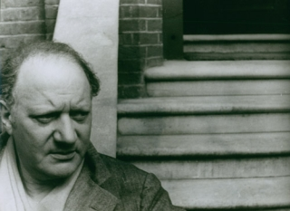 Portrait photograph of Jacob Epstein