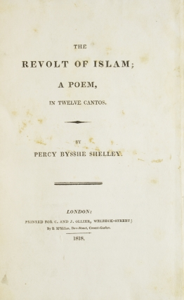 The Revolt of Islam; a Poem, in Twelve Cantos
