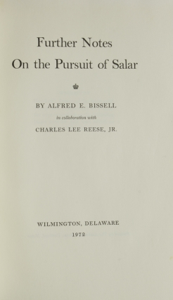 Further Notes on the Pursuit of Salar