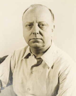 Portrait photograph of Virgil Thomson. Virgil Thomson, Carl Van Vechten