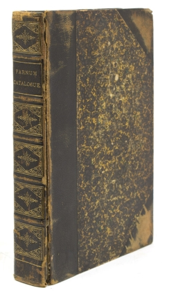 Catalogue of the Library of the Late Alexander Farnum, Esq., of Providence, Rhode Island....