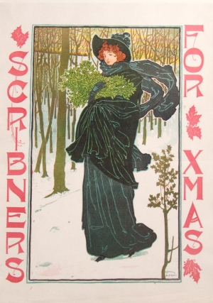 "Color Poster for Christmas Issue of Scribner's magazine entitled ""Scribner's for Xmas"""