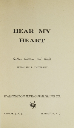 Hear My Heart. Introduction by William York Tindall