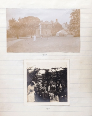 Hunting Diary of the Badsworth Hounds, including at the beginning a newspaper clipping on divorce and affair of Lady Crofton and her lover Mr. James Fountayne Montagu, formerly MFH of the Badsworth Hounds