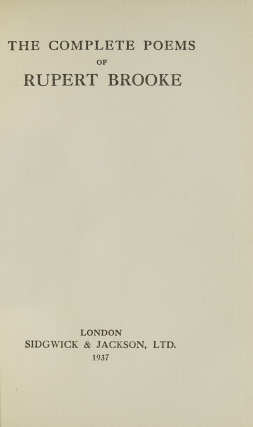 The Collected Poems of ... With an Introduction by George Edward Woodberry, and a Biographical Note by Margaret Lavingham