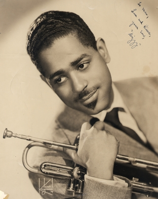 Archive of photographs, ephemera, memorabilia, etc., relating to the life and career of Dizzy Gillespie
