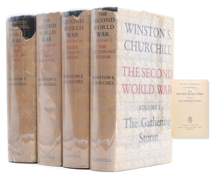 The Second World War. Vol. I: The Gathering Storm; Vol. II: Their Finest Hour; Vol. III: The...