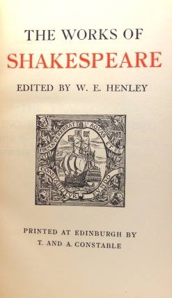 The Works … The Edinburgh Edition. Edited by W. E. Henley