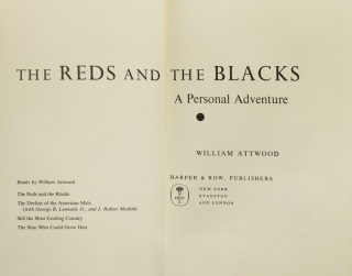 The Reds and the Blacks. A Personal Adventure