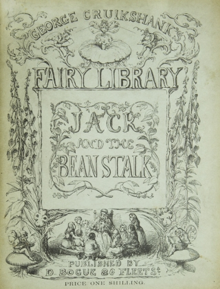 The History of Jack and the Bean-Stalk. George Cruikshank