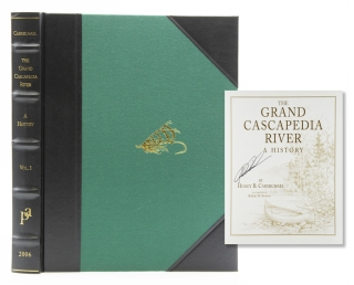 The Grand Cascapedia River. A History. [Introduction by Charles Wood III.]. Hoagy B. Carmichael.
