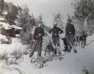 Group of 11 Original Photographs of Colorado Hunting Subjects