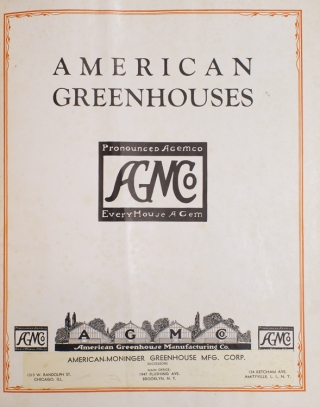 American Greenhouses. Pronounced Agemco. AGMCo. Everyhouse a Gem
