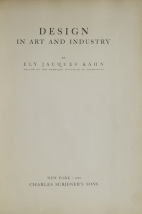 Design in Art and Industry