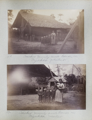 Album of 63 photographs of Outdoor Scenes in the Myakka Frontier, Peace River, and Fort Myers...