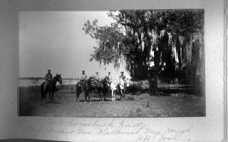 Album of 63 photographs of Outdoor Scenes in the Myakka Frontier, Peace River, and Fort Myers regions of Florida