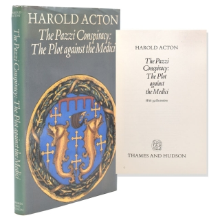 The Pazzi Conspiracy: The Plot Against the Medici. Harold Acton