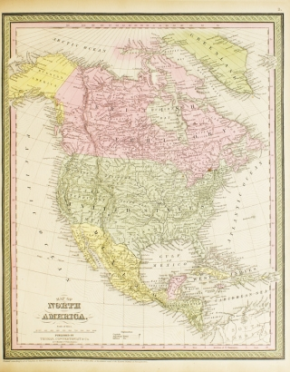 A New Universal Atlas Containing Maps of the Various Empires, Kingdoms, States and Republics of the World. With a Special Map of Each of the United States, Plans of Cities, &c