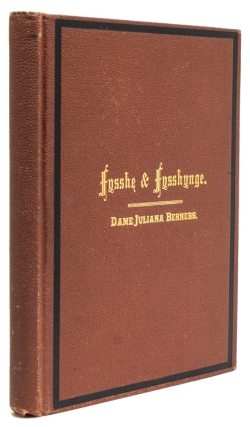 An American edition of The Treatyse of Fysshynge wyth An Angle, from The Boke of St. Albans by...