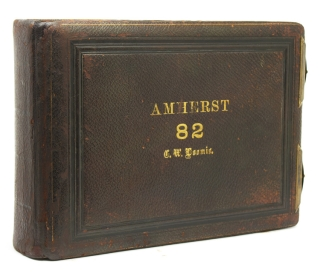 Amherst Class of 1882 Photographic Yearbook. Amherst, photographers Pach Brothers.