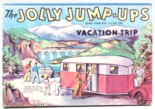 The Jolly Jump-Ups: Vacation Trip. Geraldyne Clyne
