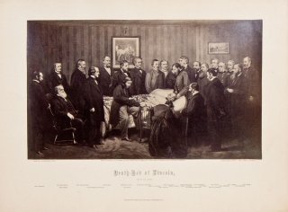 Death-Bed of Lincoln, April 15, 1865. Abraham Lincoln, John Littlefield