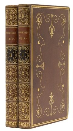One Hundred Fables, Original and Selected. English Binding, James Northcote.