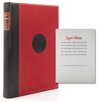 Quarto-Millenary. The First 250 Publications and the First 25 Years 1929-1954 of the Limited...