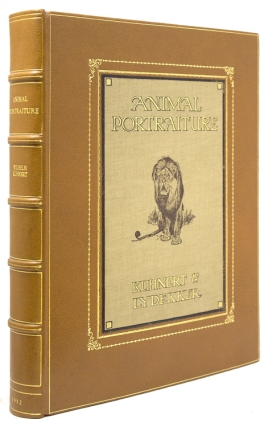 Animal Portraiture. Being fifty studies by Wilhelm Kuhnert. Accompanied by a series of original...