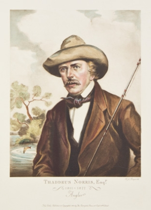 """FATHERS OF AMERICAN SPORT"" The complete set of six hand-colored aquatint portraits, with engraved titles, each signed in pencil ""R.L. Boyer"", lower left"