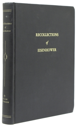 Recollections of Eisenhower [Caption title]. Dwight D. Eisenhower, Dillon Anderson.