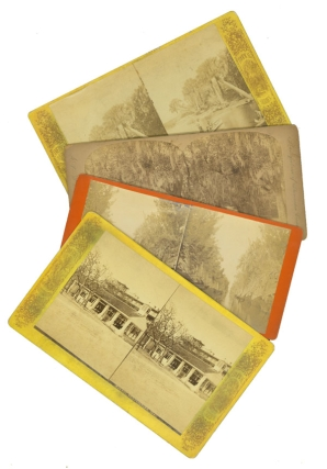 Group of 8 Florida stereographs. Florida