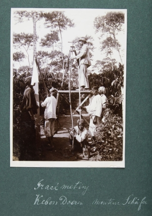 Three Photographic Albums of Aerial Tramways on Coffee, Tea, and Rubber Plantations in the Netherlands East Indies, 1914-1925, showing the engineering work of the Dutch firm of Merrem & La Porte