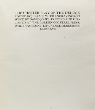 The Chester Play of the Deluge
