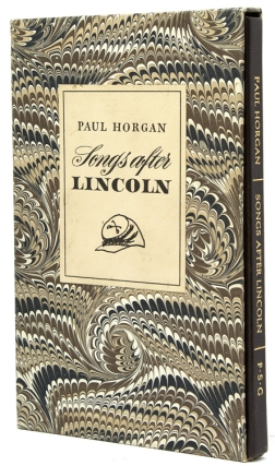 Songs after Lincoln. Paul Horgan