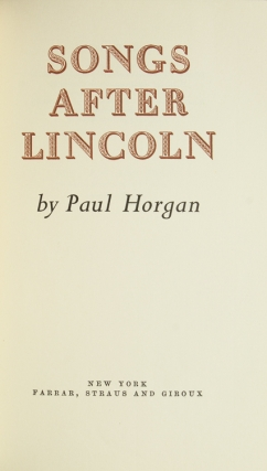 Songs after Lincoln