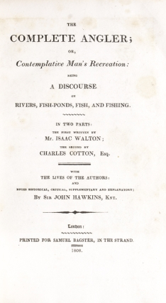 The Compleat Angler …