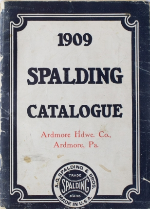 1909 Spalding Catalogue. Spalding