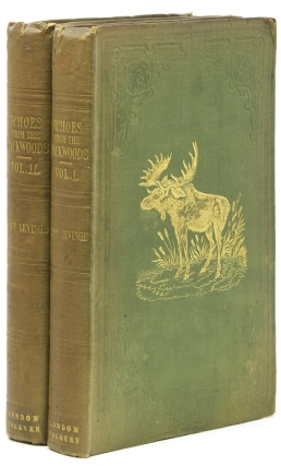 Echoes from the Backwoods; or Sketches of Transatlantic Life. American Frontier, Sir Richard G....