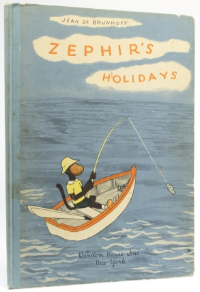 Zephir's Holidays. Translated from the French by Merle Haas. Introduction by A.A. Milne. Jean de...