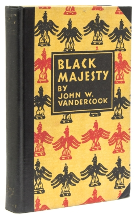 Black Majesty. The Life of Christophe, King of Haiti. Mahlon Blaine, John W. Vandercook